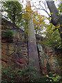 SO7389 : Eardington Lower Forge - Chimney by Chris Hodrien