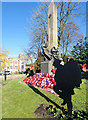 SD7807 : The War Memorial, Radcliffe by David Dixon