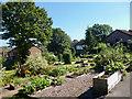SO3205 : Goytre Community Garden, Monmouthshire by Robin Drayton