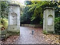 TQ2687 : Gate piers, Kenwood House by Philip Halling