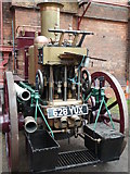 SK2625 : Claymills Victorian Pumping Station - steam fire engine by Chris Allen