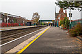 SJ5177 : The platforms at Frodsham railway station in Cheshire by Garry Cornes