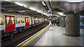 TQ3079 : Platform, Westminster Underground Station by Rossographer