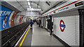 TQ2981 : Platform, Tottenham Court Road Underground Station by Rossographer