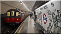 TQ3080 : Platform, Charing Cross Underground Station by Rossographer
