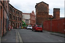 SP0687 : Derelict buildings on Legge Street by Philip Halling