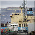 J3476 : Ships, Belfast by Rossographer