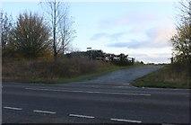 TL3372 : Track off Station Road, Needingworth by David Howard