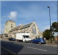TV5999 : Eastbourne Parish Church of St Mary the Virgin by Gerald England