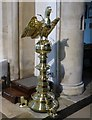 TV5999 : St Mary's eagle lectern by Gerald England