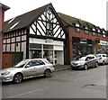 SO4593 : British Red Cross shop, 8 Sandford Avenue, Church Stretton by Jaggery