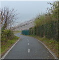 SH9078 : Wales Coast Path and National Cycle Route 5 by Mat Fascione