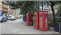 TQ3082 : Telephone call boxes, London by Rossographer