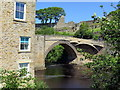 NZ0416 : Barnard Castle Bridge from The Sills by Andrew Curtis