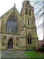 SJ3350 : St Mary's catholic cathedral, Wrexham by Paul Gillett