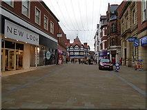 SJ3350 : High Street Wrexham by Paul Gillett