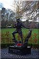 SJ2829 : Oswestry: Wilfred Owen memorial, Cae Glas Park by Christopher Hilton