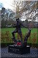 SJ2829 : Oswestry: Wilfred Owen memorial, Cae Glas Park by Christopher Hilton