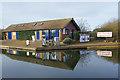 SP9122 : Boatyard facilities - Grove Lock Marina by Stephen McKay