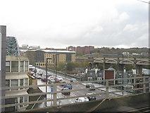 NZ2563 : The north end of Tyne Bridge by M J Richardson