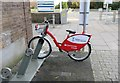 SS6291 : Bicycle hire at Swansea University by Bill Kasman