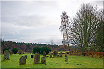NH4943 : Kilmorack Burial Ground by Julian Paren