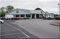R8779 : The former Lidl store in Martyr's Road, Nenagh, Co. Tipperary by P L Chadwick