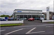 R8779 : Ryan & Burns Car Sales, Dublin Road, Nenagh, Co. Tipperary by P L Chadwick