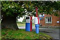 SO2593 : Old Petrol Pumps at Brompton by Jeff Buck