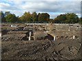 NS4076 : Langcraigs Care Home construction site by Lairich Rig