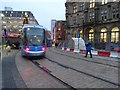 SP0686 : Tram in Victoria Square by Philip Halling