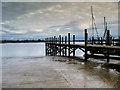 SD3541 : Old Jetty at Skippool by David Dixon