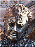 SJ4066 : The Knife Angel at Chester Cathedral - 4 by John S Turner