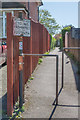 TQ1657 : Footpath off Kingscroft Road by Ian Capper