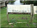 TL5982 : Information Board off the B1382 Main Street by Adrian Cable