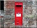 SU0657 : VR letterbox in wall, Conock by Vieve Forward