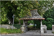 TQ1711 : Steyning, St. Andrew and St. Cuthman Church: The Lych gate by Michael Garlick