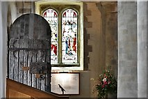 TQ1711 : Steyning, St. Andrew and St. Cuthman Church: The ca. 850 year old south door by Michael Garlick
