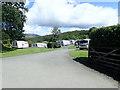 SH7719 : Llwyn-yr-Helm Caravan Park by Eirian Evans