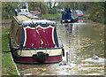 SP6990 : Moored narrowboats at Foxton by Mat Fascione