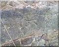 SD7358 : Ordnance Survey Cut Mark by Adrian Dust