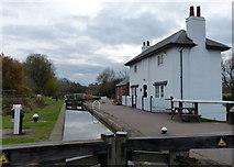 SP6989 : Lock keepers cottage at Foxton Locks by Mat Fascione