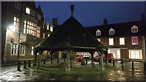 SK8608 : The Buttercross at Oakham Market Place by Mat Fascione