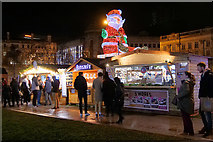SJ8498 : The Christmas Market at Piccadilly by David Dixon