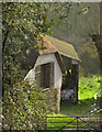 SX7458 : Buildings at Lower Lincombe by Derek Harper