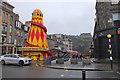 NT2473 : Christmas entertainments, Castle Street by Jim Barton