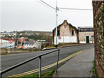 W6772 : Boarded up building, St Mary's Road, Cork by Robin Webster