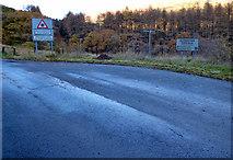 NS1690 : Sligrachan bus terminus by Thomas Nugent