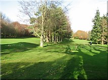 TG2105 : A view of Eaton Golf Course from Marston Lane by Evelyn Simak