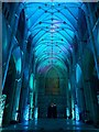 SE6052 : Illuminated Minster - Empty nave by DS Pugh